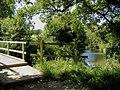 The Weald Way at Sessingham Bridge on the Cuckmere River - geograph.org.uk - 866907.jpg
