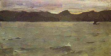 Валентин Серов. Белое море, 1894
