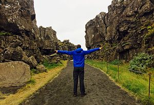Geology of Iceland - The boundary between the North American and Eurasian tectonic plates
