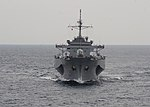 The command ship USS Blue Ridge (LCC 19) sails in the South China Sea June 12, 2013 130612-N-QI421-401.jpg
