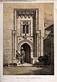 The doorway to the turkish bath, El-Télet, Cairo, Egypt. Lit Wellcome V0012302.jpg