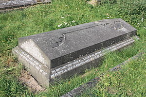 Charles Henry Pearson - The grave of Charles Henry Pearson, Brompton Cemetery, London