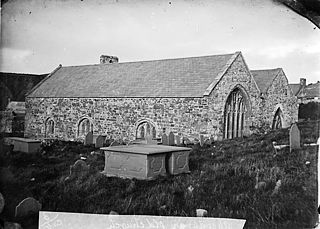 The old church, Aberdaron