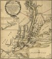 The seat of action, between the British and American forces; or, An authentic plan of the western part of Long Island, with the engagement of the 27th August 1776 between the King's forces and the LOC gm71002199.tif