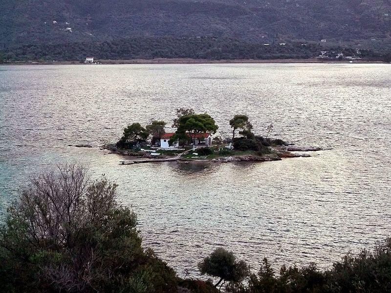 Daskalio, isla del Mar Egeo.