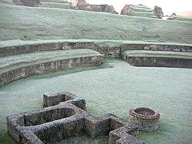 Roman theatre in Lillebonne