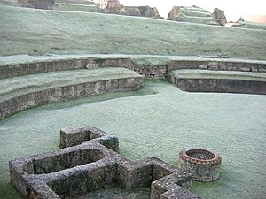 Normandy - Roman theatre in Lillebonne