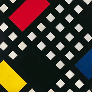 Muzeum Sztuki in Łódź - Theo van Doesburg, Counter-composition XV, collection of the Museum of Art in Łódź