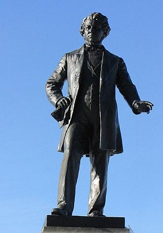 Thomas D'Arcy McGee - Statue on Parliament Hill, Ottawa