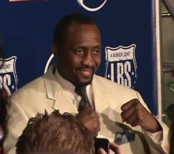 English: African American boxer Thomas Hearns