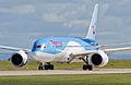Thomson Airways, Boeing 787-8 Dreamliner, G-TUIA (18409744118).jpg