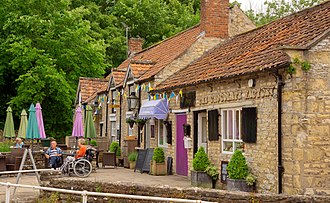 Shops near the beck in Thornton-le-Dale Thornton le dale business 682.jpg