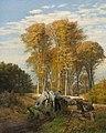 Thorvald Niss, Borrevejle skov, 1878, RKMm0148, Ribe Kunstmuseum.jpg