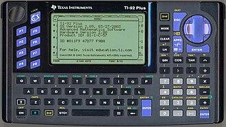 TI-92 series - TI-92 Plus