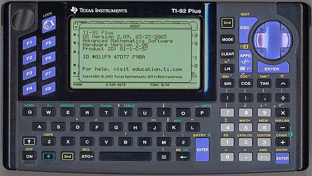 calculatrice scientifique ti 89