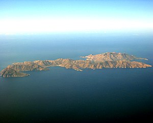 Tilos Greece aerial image