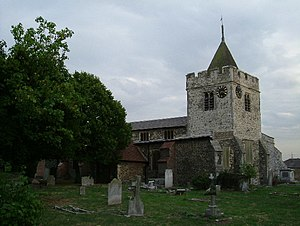 Aveley - Image: Timeless (St Michael's Aveley) geograph.org.uk 36157
