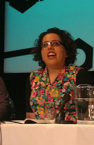 Tina Gharavi - Gharavi at the Story Engine Screenwriting Conference, UK