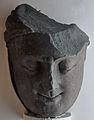 Tirthankara Head - Kushana Sculpture - Circa 2nd-3rd Century AD - Mathura - Uttar Pradesh - Indian Museum - Kolkata 2012-11-16 2088.JPG