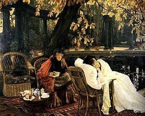 Holyday (Tissot painting) - Image: Tissot a convalescent
