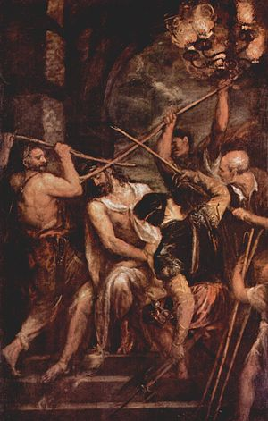 The Mocking of Christ by Titian.