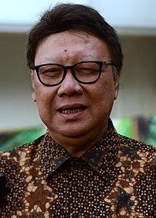 Tjahjo Kumolo Indonesian politician