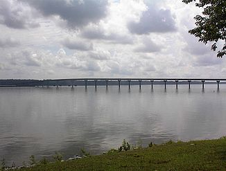 Tennessee River bei Cherokee, Alabama