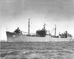 Marinship - SS Tomahawk (AO-88) - a type T2-SE-A2 fleet oiler built at Marinship, Sausalito (1943-1944)