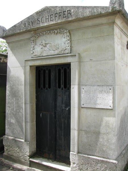 Tombe d'Ernest Renan — Cimetière de Montmartre