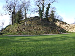 Tonbridge - The motte of Tonbridge Castle