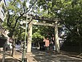 Torii of Kashii Shrine on Kashii-Sando Avenue 2.jpg