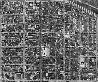 Church and Wellesley - Aerial Photograph of the area, 1942