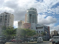 Santo Domingo partial skyline