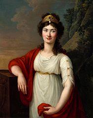 Portrait of Ludwika Lanckorońska née Rzewuska.