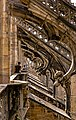 Tourists looking at flying buttresses on roof of Milan Duomo.jpg