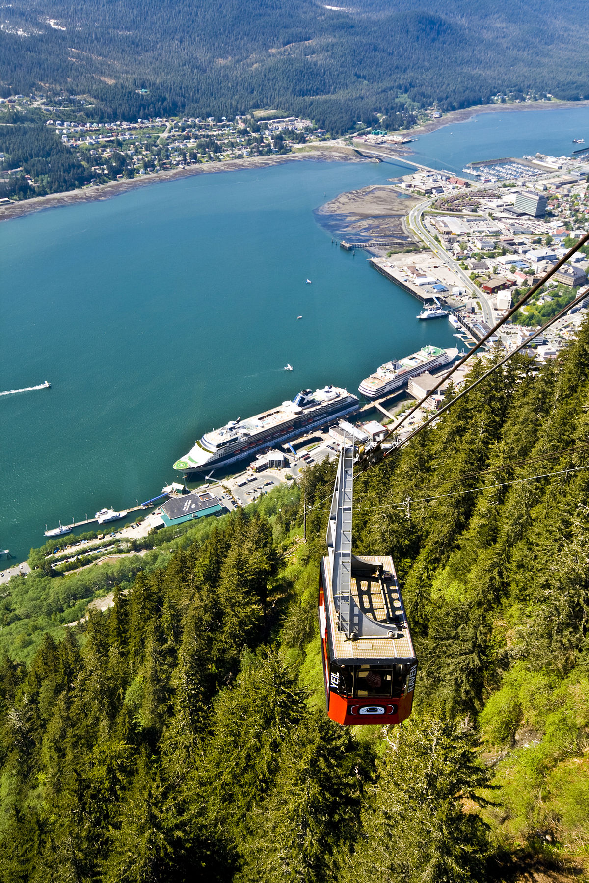 Mount roberts alaska wikipedia for How much does a hillside tram cost
