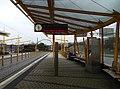Tramvajová zastávka Geologická, nástupiště do centra.jpg