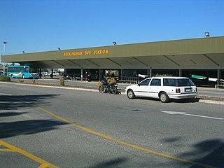 Rockingham bus station Former bus station