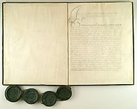 Treaty of Oliwa 1660 - first page of the document.jpg
