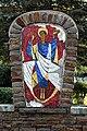 Treis, Auferstehung - Mosaik am Friedhof (2019-10-24 Sp).JPG