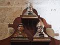 Tres busts reliquiari, monestir de la Trinitat de València.JPG