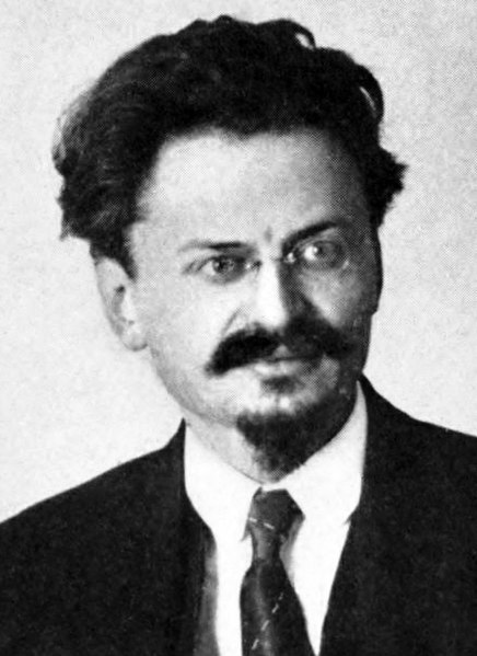Cropped image of Lev Trotsky