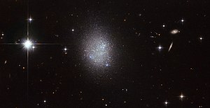 Dwarf galaxy - Image: True blue
