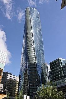 Trump International Hotel and Tower (Vancouver) Hotel skyscraper in British Columbia, Canada