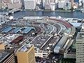 Tsukiji view from Shiodome 2.JPG