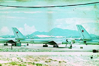 Cam Ranh Base - The base during the Soviet era (Tu-142Ms pictured)