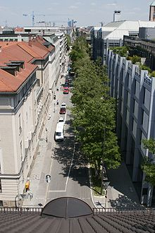 Turkenstraße munich from south.jpg