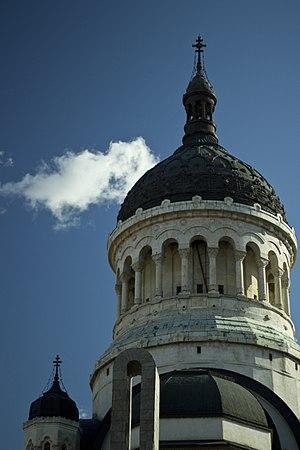 Dormition of the Theotokos Cathedral, Cluj-Napoca - Image: Turn Catedrala Ortodoxa Cluj Napoca