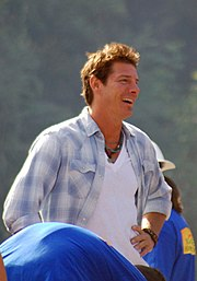 Ty Pennington w mieście North Pole na Alasce, 2006