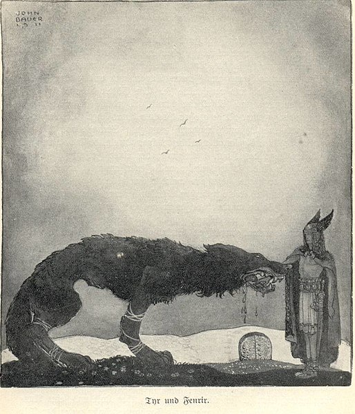 File:Tyr and Fenrir-John Bauer.jpg